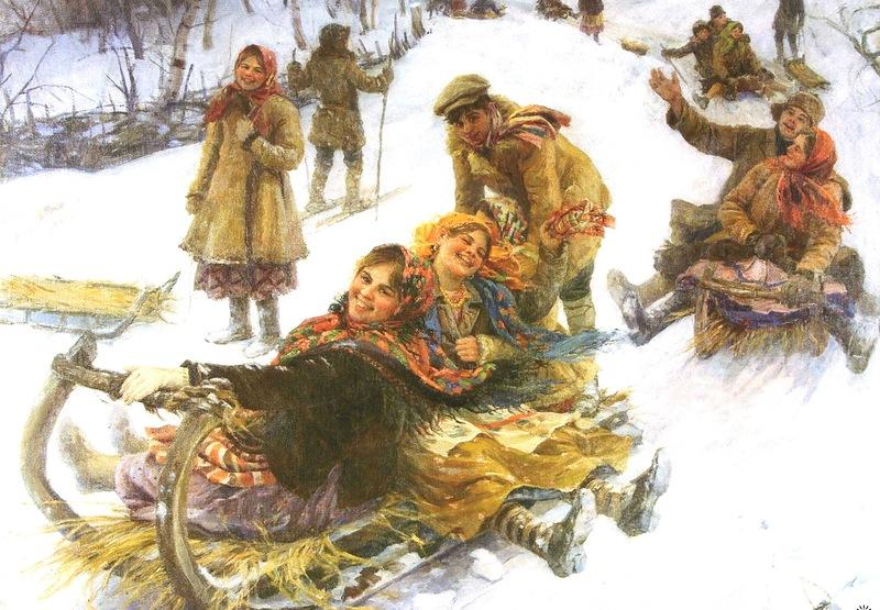 История саней или Когда на Руси появились первые сани