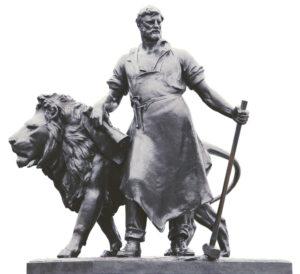 Статуя кузнеца